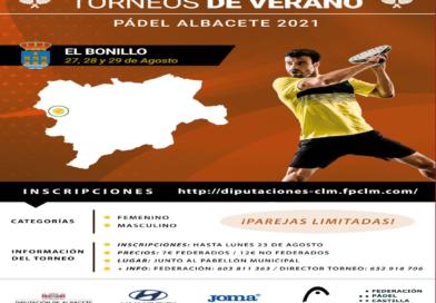 I Circuito Diputación de Albacete. Torneo 13 Ayuntamiento De El Bonillo