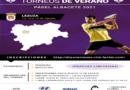 I Circuito Diputación de Albacete. Torneo 10 Ayuntamiento De Lezuza