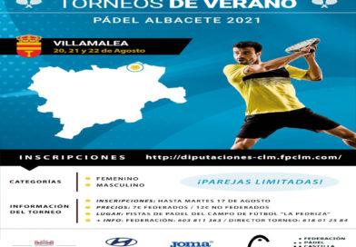 I Circuito Diputación de Albacete. Torneo 12 Ayuntamiento De Villamalea